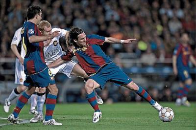 La Crónica: F.C Barcelona- Manchester United